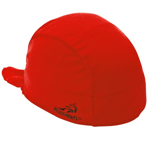 Headsweats Shorty Beanie and Helmet Liner, Red, One Size