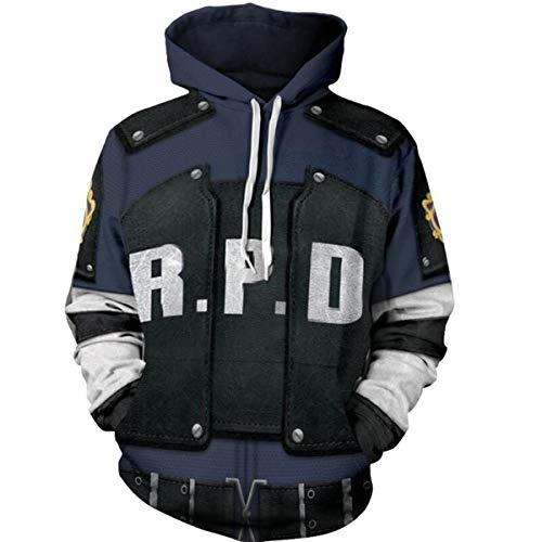 NSOKing Resident Evil 2 Hoodies Leon Scott