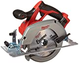 "Milwaukee M18 2630-20 18 Volt Lithium Ion 6-1/2"" 3,500 RPM Cordless Circular Saw w/ Magnesium Guards and Included 24-Tooth Carbide Wood Cutting Blade(Bare Tool)"