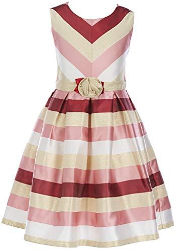 Bonnie Jean Ivory Dress - Bonnie Jean Big Girl's 7-16 Holiday