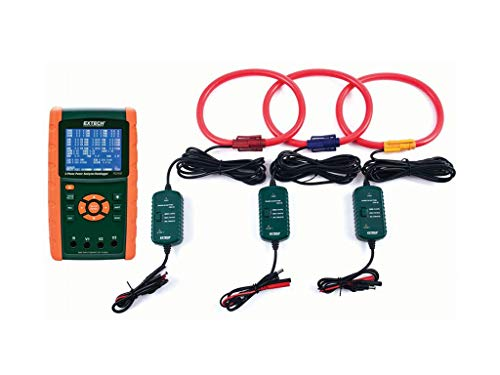 Extech PQ3450-30 3000A 3-Phase Power Analyzer and Data Logger Kit
