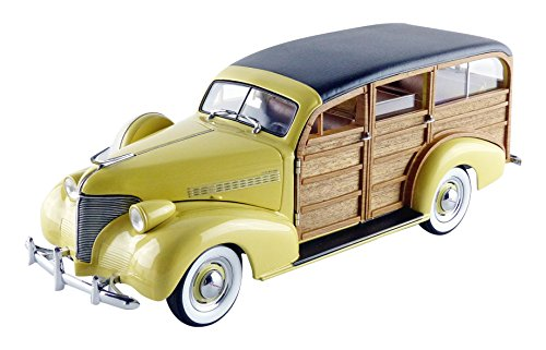 Sunstar – 6170 – Chevrolet Woody Station Wagon – 1939 – Echelle 1/18 – Creme