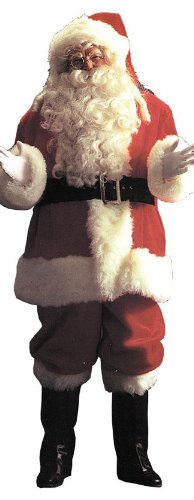 Professional Santa Claus Suit Adult Costume - XX-Large
