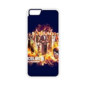 Doctor Who 50th Anniversary iPhone 6 4.7 Inch Cell Phone Case White VC9G669G