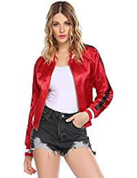 Amazon.com: Reds - Quilted Lightweight Jackets / Coats, Jackets ...
