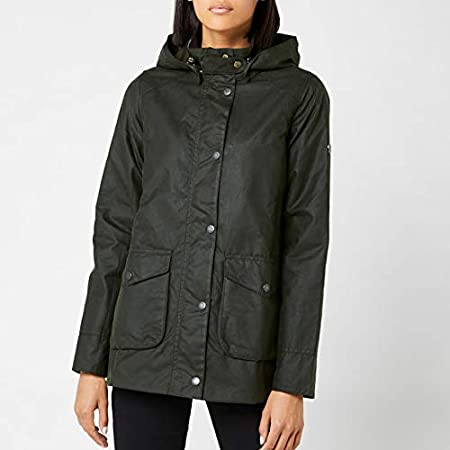 Barbour Womens Marine Wax Coat - Sage - UK 10: Amazon.es ...