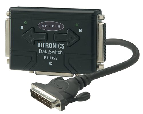Belkin Bitronics Data Switch Kit; 3xDB25F; Manual (F1U123-KIT )