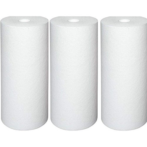 Pentek DGD-5005 Dual Gradient Sediment Water Filters (10'' x 4.5'') - 3 Pack by Pentek