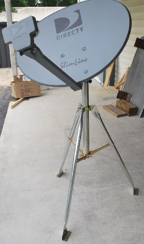 Best Review Of DIRECTV 3LNB SLIMLINE DISH KAKU SL3 SWM HD RV 3 TRIPOD TAILGATING KIT GENIES & H25