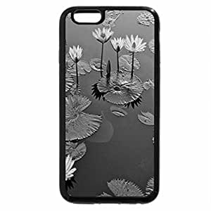 iPhone 6S Case, iPhone 6 Case (Black & White) - The pond