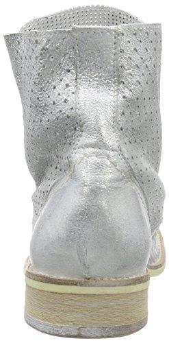 Silber Mustang silber 2856 21 Plateado Botas Mujer 502 qBvTSf