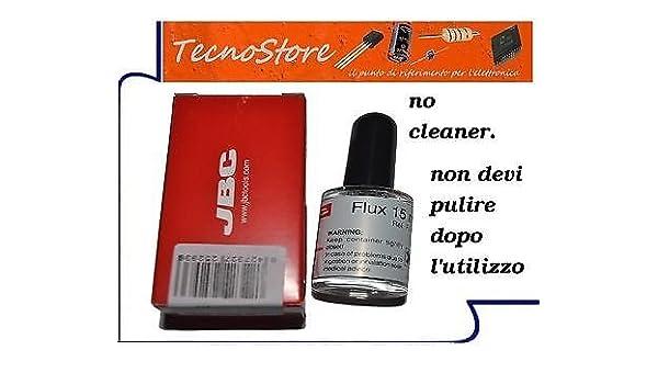 flussante líquido 15 ml para SMD para soldar soldadura de estaño no Clean JBC: Amazon.es: Electrónica