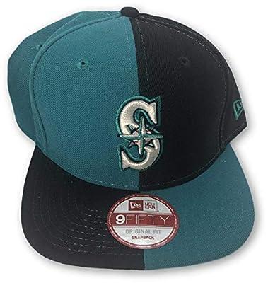 New Era Seattle Mariners Snapback Adjustable Hat Green