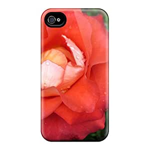 Ultra Slim Fit Hard Oilpaintingcase88 Cases Covers Specially Made For Iphone 6- Lovely Rose