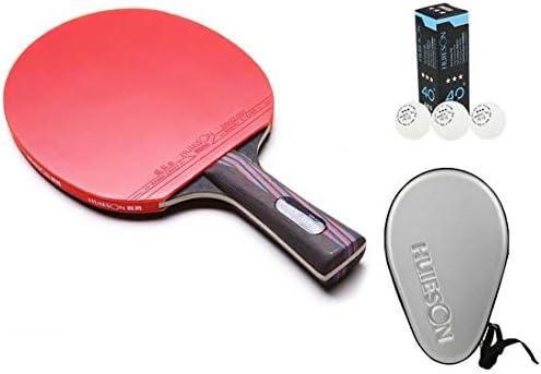 Nano Carbonization木製トレーニングやゲームDefensiveタイプテーブルテニスラケットピンポンパドル
