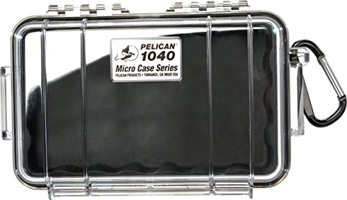 Pelican 1040 Micro Case (Black/Clear)