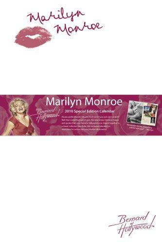 Marilyn Monroe 2010 Special Edition Wall Calendar