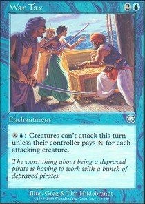 - Magic: the Gathering - War Tax - Mercadian Masques - Foil