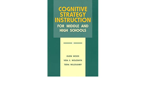 Amazon Cognitive Strategy Instruction For Middle And High