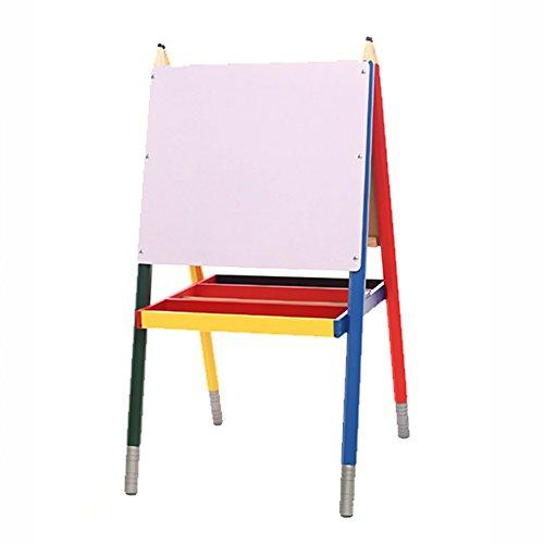子供イーゼル絵画ディスプレイホルダーソリッドウッドスケッチブックベビーライティングボード3-13歳パズルキッズおもちゃ