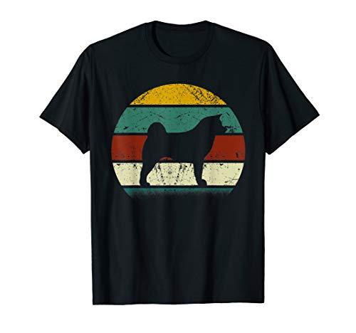 Vintage Retro Akita Inu T-Shirt Gift For Dog Lover ()