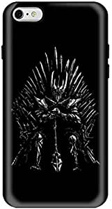 Stylizedd Apple iPhone 6Plus Premium Dual Layer Tough Case Cover Gloss Finish - GOT One Throne