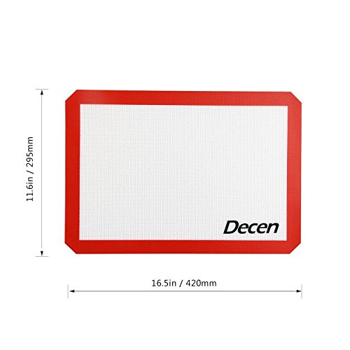 Decen Silicone Baking Mat Kitchen Amp Dining Toaster Oven