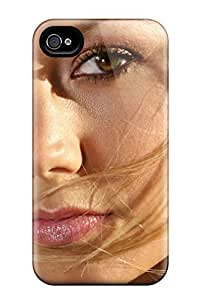 Durable Defender Case For Iphone 4/4s Tpu Cover(stacy Keibler Close Up)