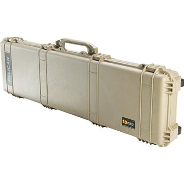 Pelican 1750 Rifle Case With Foam (Desert Tan)