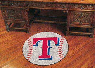 Texas Rangers Baseball Rug - 9