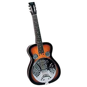 flinthill fhd100s square neck resonator guitar sunburst musical instruments. Black Bedroom Furniture Sets. Home Design Ideas