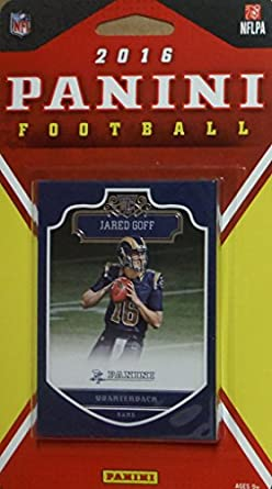 39eacdda Los Angeles Rams 2016 Panini Factory Sealed Team Set with Todd Gurley and  Aaron Donald plus Jared Goff Rookie Card and others