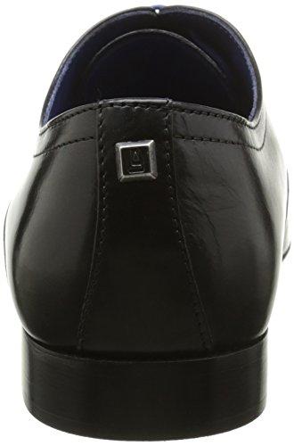 AzzaroAnsard - zapatos con cordones Hombre Negro - negro