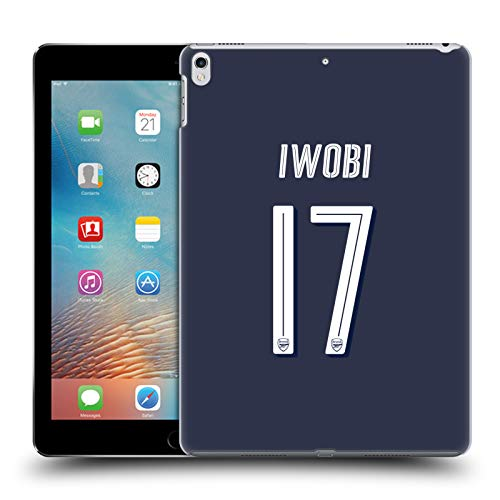Official Arsenal FC Alex Iwobi 2018/19 Players Away Kit Group 1 Hard Back Case for iPad Pro 10.5 (2017)