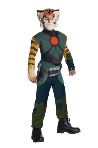 ThunderCats Animated Tygra Deluxe Muscle Chest Costume - Medium]()