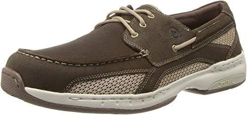 Dunham Men's Captain Boat Shoe,Dark Mocha,7.5 D US