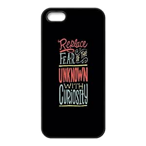 iPhone 4 4s Cell Phone Case Black Fear Of The Unknown Rblez