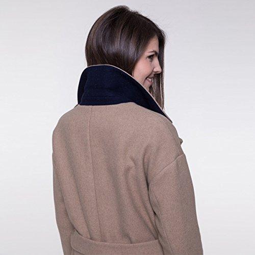 Long and Manteau Coat ceintur Trench wfRFEB