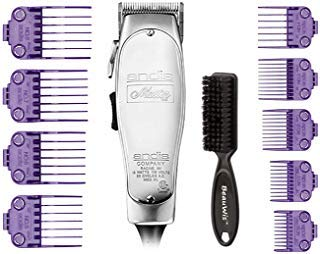 (Andis Master Hair Adjustable Blade Clipper, Andis Master Dual Magnet 5-Comb Set, Andis Master Dual Magnet Large 4-Comb Set, BeauWis Blade)