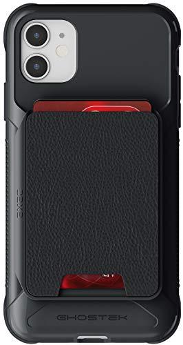 Ghostek Exec 4 Card Holder Case Built-in Magnet Compatible with Apple iPhone 11 - Black