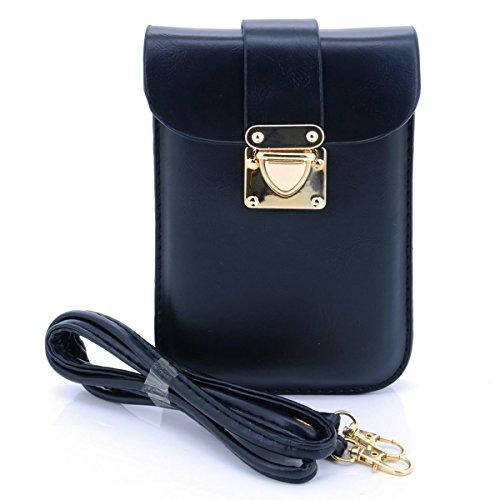 u-times-womens-small-pu-crossbody-shoulder-smart-cell-phone-bag-document-pouchblack