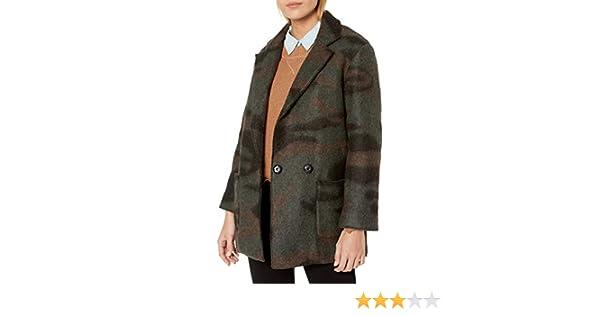xtsrkbg Womens Slim Fit Trench Coat Overcoat Md-long Faux Leather Jacket