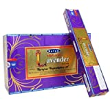 Satya Natural Lavender Incense Sticks 180 Grams Full Box