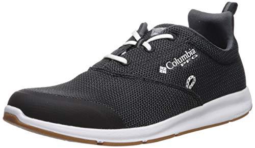 Columbia PFG Men's Delray CVO PFG Boat Shoe, Black, White, 8 Regular US ()