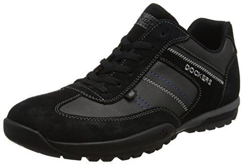 Dockers Par Des Hommes Gerli 36ht004-204100 Noir Baskets (noir 100)