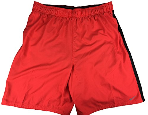 Nike Men's Volley Swim Board Shorts (Large, Red)