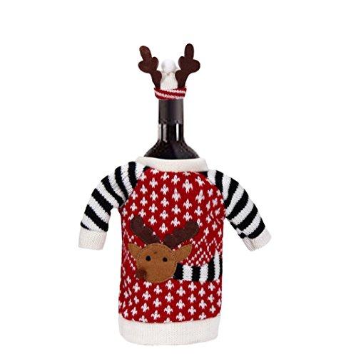 Santa Wine Bottle Gift Bags - 7