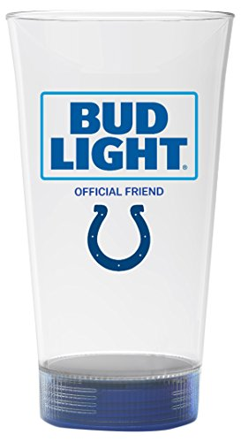 Bud Light Colts Touchdown Glass, Indianapolis - Glasses Colt