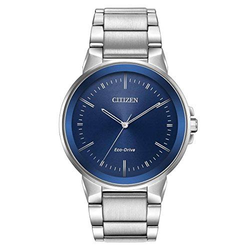 Citizen Men's Eco-Drive Japanese-Quartz Watch with Stainless-Steel Strap, Silver (Model: BJ6510-51L)