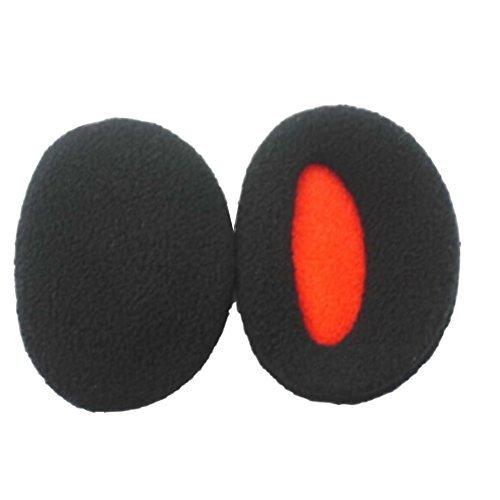 Earmuffs Bandless Fleece Ear Warmers Men Women Winter Outdoors (S, Black) (Bandless Muffs Ear)